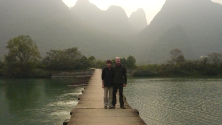 Michael Hall in China