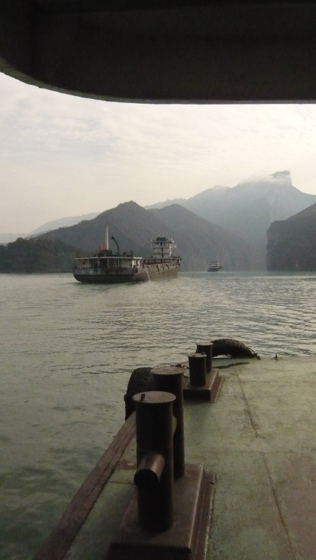 River ruise on the Yangtze